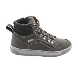 Lee Cooper chaussures de sport hautes 19-29-081 gris