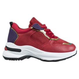 SHELOVET Sneakers Casual rouge