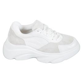 Seastar blanc Chaussures de sport sur la plate-forme