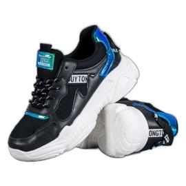 SHELOVET Chaussures de sport confortables noir