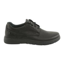 Noir Chaussures à lacets pour hommes Riko 902