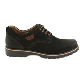 Riko hommes chaussures 858 noir