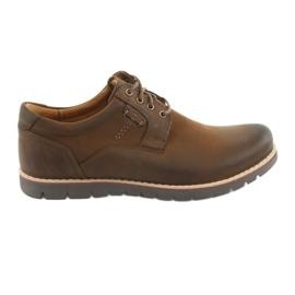 Brun Chaussures à lacets Riko 761 marron