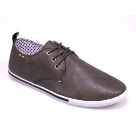 Chaussures avec 510 drapeau gris
