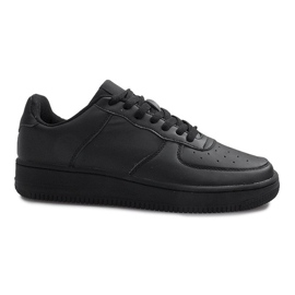 Chaussures de sport Air Force One noires