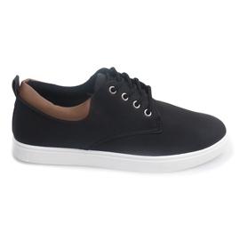 Casual Hommes Sneakers 655 Noir