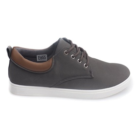 Casual Hommes Sneakers 655 Gris