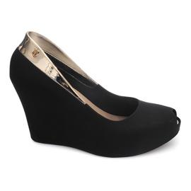 Meliski Open Wedge Heel S22 Noir