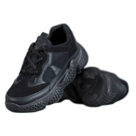 SHELOVET noir Black Sneakers Femmes