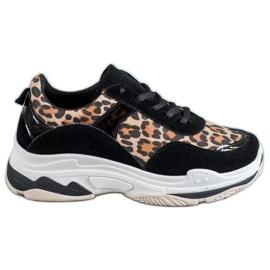 Kylie Baskets à imprimé léopard