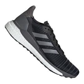 Noir Adidas Solar Glide 19 M G28463 chaussures