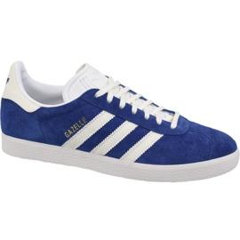 Bleu Adidas Originals Gazelle B41648 chaussures