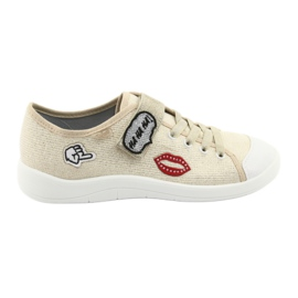 Jaune Befado chaussures pour enfants 251Q098