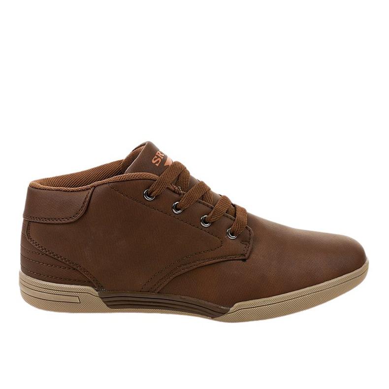 Sneakers hommes marron 15M787 brun