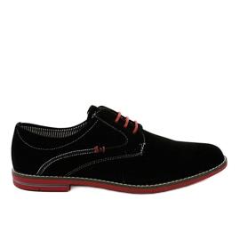 Chaussures élégantes noires 6-688