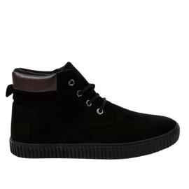 Sneakers noires isolées AN06 pour hommes