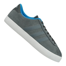 Gris Chaussures Adidas Vl Court Vulc M AW3927