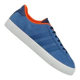 Bleu Chaussures Adidas Vl Court Vulc M AW3963