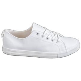 SHELOVET blanc Baskets confortables