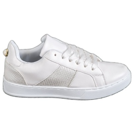 Emaks blanc Baskets de mode