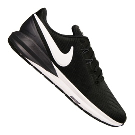 Noir Chaussures Nike Air Zoom Structure 22 M AA1636-002
