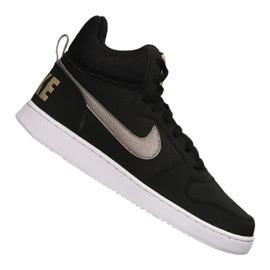Noir Chaussures Nike Court Borough Mid M 838938-005