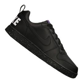 Noir Chaussures Nike Court Borough Low Se M 916760-002