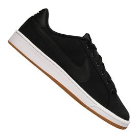 Noir Chaussures Nike Court Royale Canvas M AA2156-001