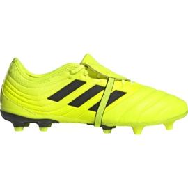 Chaussures de football Adidas Copa Gloro 19.2 Fg M F35491 jaune rose