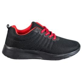SHELOVET Chaussures de sport noires