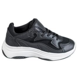 SHELOVET noir Baskets de sport