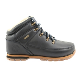 American Club ES40 marine chaussures à lacets