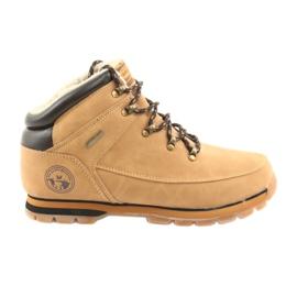 American Club ES39 chaussures à lacets camel