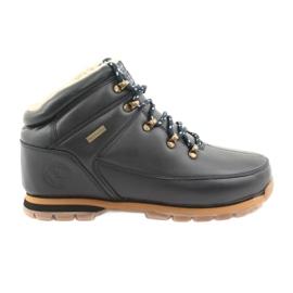 American Club ES39 chaussures à lacets bleu marine
