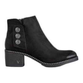 Noir Bottines VINCEZA
