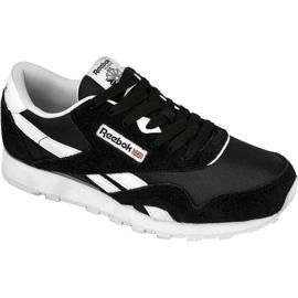 Noir Reebok Classic Nylon Jr J21506 chaussures