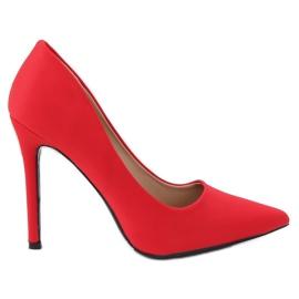 Escarpins sur une broche rouge 4014 Red