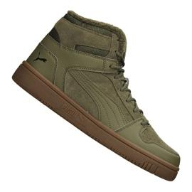 Puma Rebound LayUp Sd Fur M 369831-03 chaussures vert