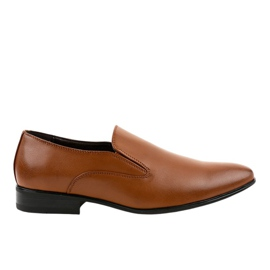 Mocassins marrons élégants 6-317 brun