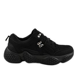 Chaussures de sport pour femmes noires BD-5
