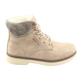 American Club Chaussures à lacets RH47 beige brun