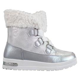 Bottes de neige chaudes de MCKEYLOR gris