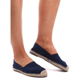 Espadrilles F169-6 Sandales Bleues
