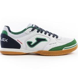 Chaussures d'intérieur Joma Top Flex 932 Sala In M vert bleu marine