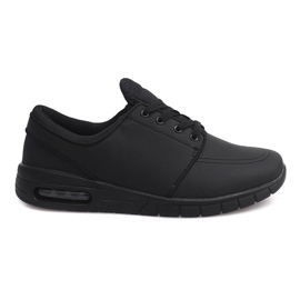7765-1 Chaussures de course à pied noires