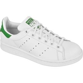 Chaussures Adidas Originals Stan Smith Jr M20605 blanc