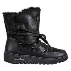 Bottes de neige à paillettes MCKEYLOR noir