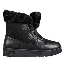 Bottes de neige chaudes de MCKEYLOR noir