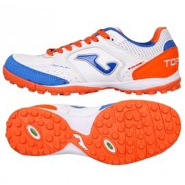 Joma Top Flex 942 Tf M TOPW.942.TF Chaussures de Football blanc blanc