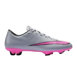 Chaussures de football Nike Mercurial Victory V Fg M 651632-060 gris gris / argent
